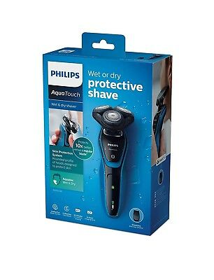Philips AquaTouch Wet & Dry Electric Shaver S5050/06 For Men
