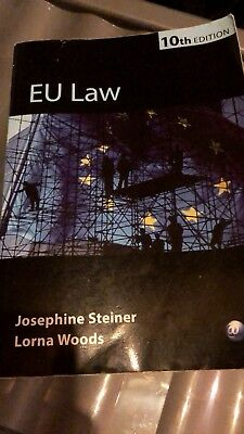 EU law Joesphine Steiner and Lorna Woods