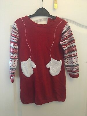 Red Christmas Dress 18-24 Months
