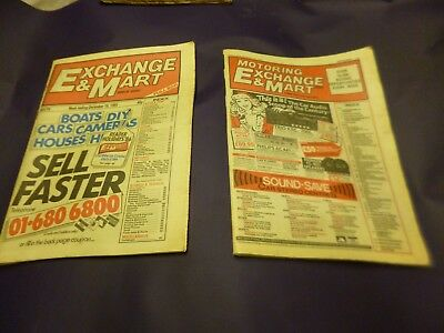 exchange and mart  december 18 1985