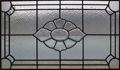 Beautiful Original Bevelled Leaded Glass Window