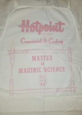 Vtg Hotpoint ELECTRIC Commercial COOKING Master Of Magiric Science RARE