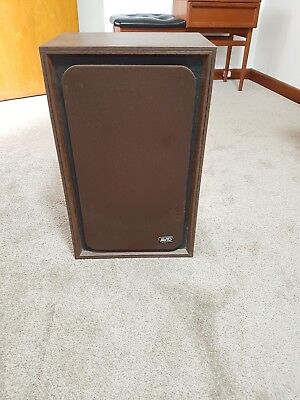 2 Wooden antique speakers - 1970s - Avid brand