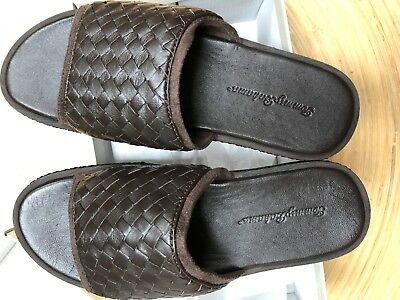 be857a767c0b7e Tommy Bahama Men s Shore Crest Slide Sandal - New Size 8 Dark Brown