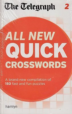 The Telegraph All New Quick Crosswords vol 2 BRAND NEW BOOK (Paperback 2012)