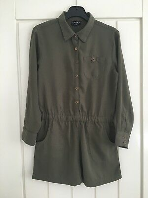 Girls Next Olive Green Play suit