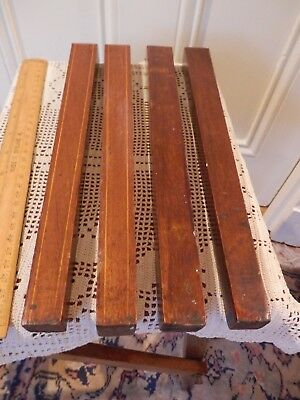 Antique Cabinet Cupboard Furniture 4 Feet Legs reclaimed