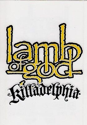 Lamb Of God Killadelphia RARE promo stickers (2) '05
