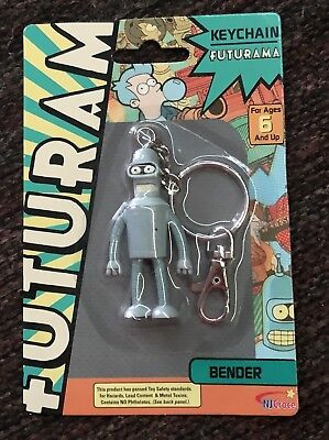 NJ Croce Futurama Key Chain Bender Nip!