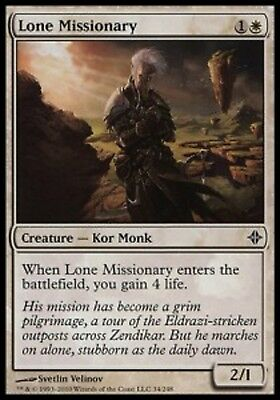 MRM FRENCH 4x Missionnaire Solitaire - Lone Missionary MTG Magic ROE