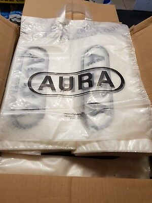 Strong Clear plastic Carrier Bags