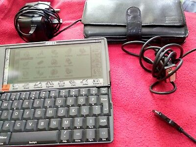 Psion 5MX PDA + accessories + 1gb flash card