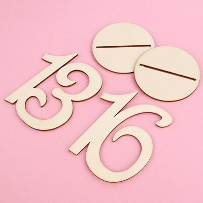 20 Pcs 1-20 Numbers Wedding Table Numbers Birthday Table Number holder for Party
