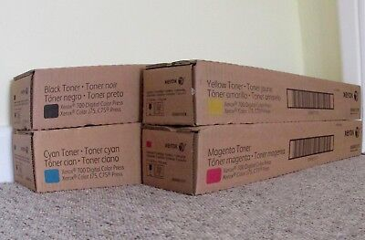 Xerox 700 Digital Color Press Toner Set Of 4 Cmyk For Xerox Color J75 And C75