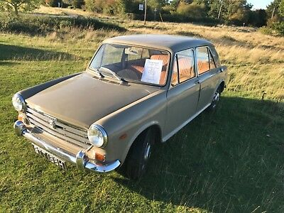 Morris 1300. Only 16000 miles from new.