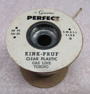 Perfect Parts Co.,  Rubber Tubing, Kink-Pruf,  Small Size, Quantity 50 Ft., NOS