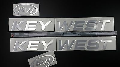 "KEY WEST Boats Emblem 22"" + FREE FAST delivery DHL express"