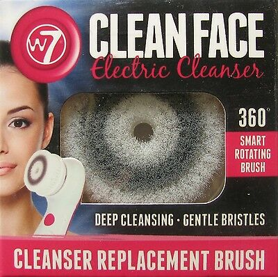 W7 Cleanser Replacement Brush for the Clean Face Cleanser - New and Boxed