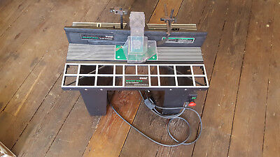 A Little Used TREND Router Table Wood Working Tool 10349