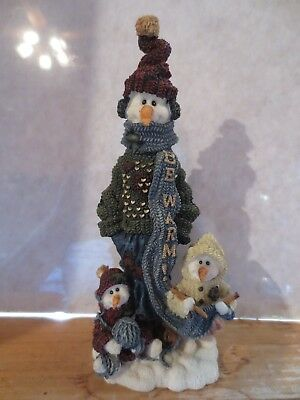 """Boyd Bears Folkstone Collection """"Helga with Ingrid & Anna..Be Warm"""" Style 2818"""