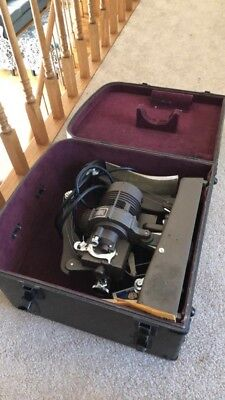 16 Mm Showmaster Projector with Original Manual