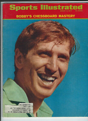 August 14th 1972 vintage issue of Sports Illustrated