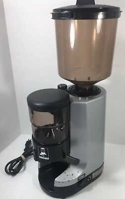 Nuova Simonelli MDX Commercial Espresso Grinder TESTED  WORKING *Cracked Hopper*