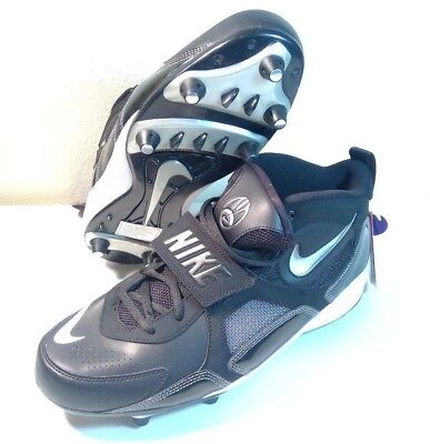 7f30f68aa Nike Air Zoom Code Football Cleats Size 11.5 black   white 352634-011 new