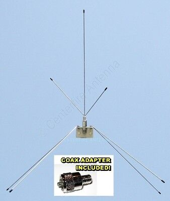 Centerfire Multi-Band Scanner antenna with F connection. VHF-Hi / UHF  USA