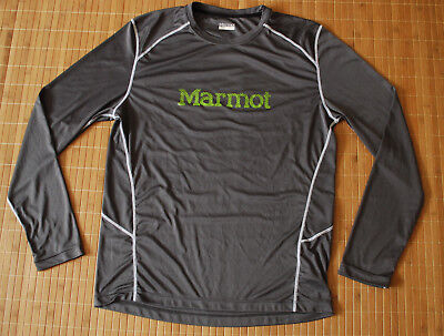 Marmot Long Sleeve t-shirt base layer stretch Men's XL Genuine top sweater