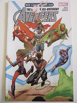 Avengers The All-New, All-Different Comic  FCBD unstamped May 2015