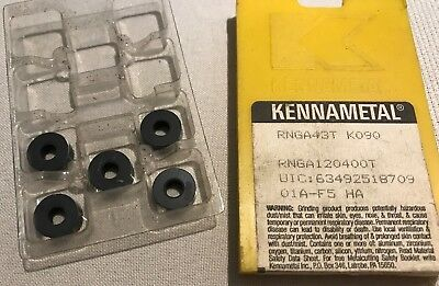 Kennametal Ceramic Insert - RNGA43T K090 - Qty. 5 - NEW!!