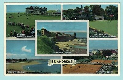 Multi View of St Andrews Free P&P to UK (ref a99)