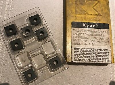 Kennametal Ceramic Inserts - SNGA432T0820KY3000 - Qty. 7 - NEW!!