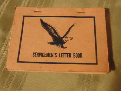 Ww2 Us Army, Servicemen's Letter Book. Military
