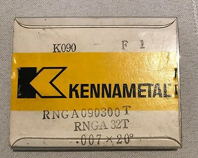 Kennametal Ceramic Inserts - RNGA32T K090 - Qty. 9 - NEW!!