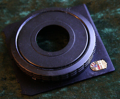 Helical Focusing Mount for 90mm on Linhof style board (#0) (Schnecke)