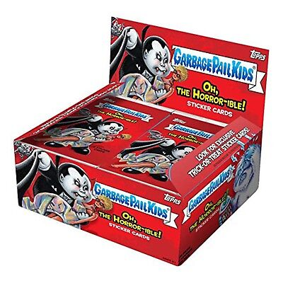 Garbage Pail Kids Oh The Horror-ible Series 2 Trading Cards 1 Full Hobby Box NEW