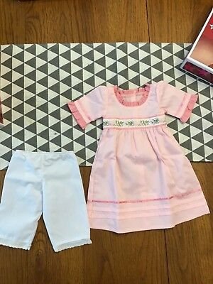 American Girl Doll Meet Caroline Outfit New With Box Dress Pants Retired Archive