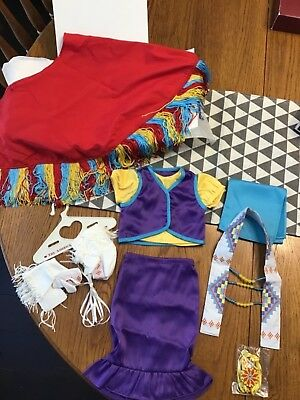 American Girl Doll Kaya Shawl Outfit Nib Retired Archived Tons Of Stuff