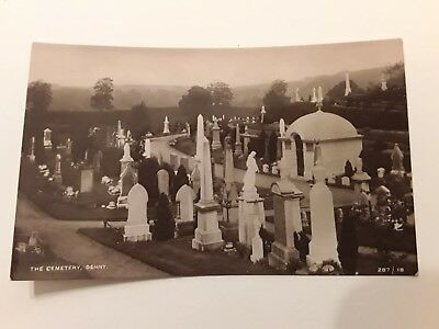 Postcard The Cemetery  Denny,  Stirlingshire   Unposted