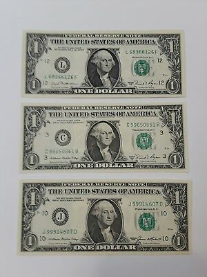 1981 $1 with 1981A, 1985, 3 note set. Free shipping.