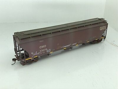 Athearn RTR HO 3 Bay Hopper UP #CMO13578 Weathered