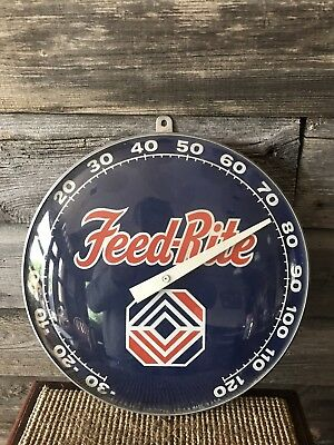 Vintage Feed-Rite Feed Thermometer