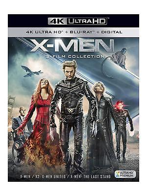 X-Men 1+2+3 Film Collection Trilogy 4K UHD Ultra Blu-ray Boxset Region B Pal New