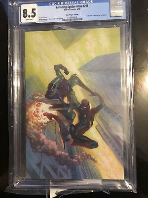 Cgc Amazing Spider-man #798 Alex Ross Virgin Variant Red Goblin Story1:100 8.5