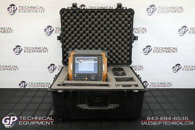 TD Handyscan 32:64 Ultrasonic Phased Array Flaw Detector Panametrics Omniscan UT