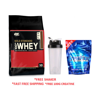 OPTIMUM NUTRITION 100% WHEY / 10LB 4.5kg GOLD STANDARD 10lbs WPI WPC PROTEIN - O