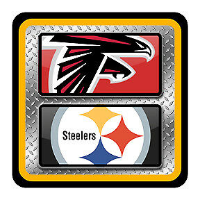 STEELERS v FALCONS TICKETS - 2 EXCELLENT LOW LEVEL SEATS + PARKING PASS INCLUDED