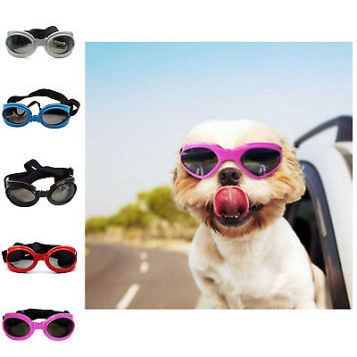 Sunglasses New Adjustable Pet Dog Portable Goggles Anti-UV Eye Wear Protection